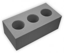 Кирпич силикатный УТОЛЩЕННЫЙ пустотелый лицевой СЕРЫЙ М 125