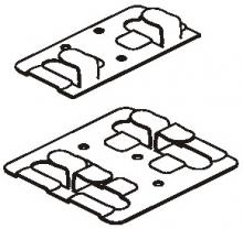Кляммер рядовой (основной) нерж.1,0 мм
