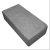 Кирпич бетонный одинарный полнотелый  ОК25-12-6.5 (М75) серый