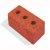 Кирпич керамический полнотелый утолщенный с тех. пустотами (до 13%) М150-200 250х120х88