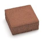 Тротуарная плитка Квадрат 2К.6 (М300) коричневая