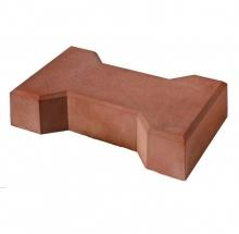 Тротуарная плитка Катушка 1Ф7.7 (М300) большая коричневая