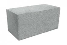 Стеновые камни цементные фундам., сплошной КСР39.200.F200.2100 серый