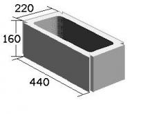 Вентиляционный блок одноканальный (220х160х440)