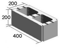 Вентиляционный блок двухканальный (200х200х400)