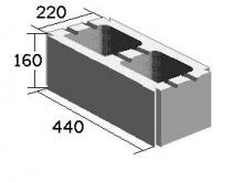 Вентиляционный блок двухканальный (220х160х440)