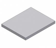 Плиты плоские для перекрытия подпольных каналов ПТ 12,5-11.9