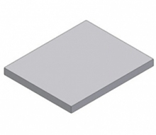 Плиты плоские для перекрытия подпольных каналов ПТ 12,5-13.13